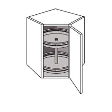 meuble en coin cuisine meuble de cuisine coin haut avec 2 plateaux cuisine
