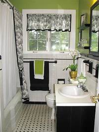 black and white bathroom decor Black and White Bathroom Decor Ideas + HGTV Pictures | HGTV