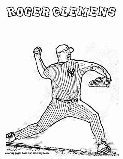 Coloring Baseball Pages Player Louis St Blues