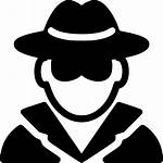 Spy Icon Secret Person Svg Detective Icons