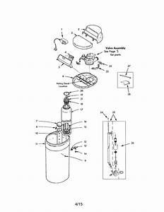 Kenmore 625383000 Water Softener Parts