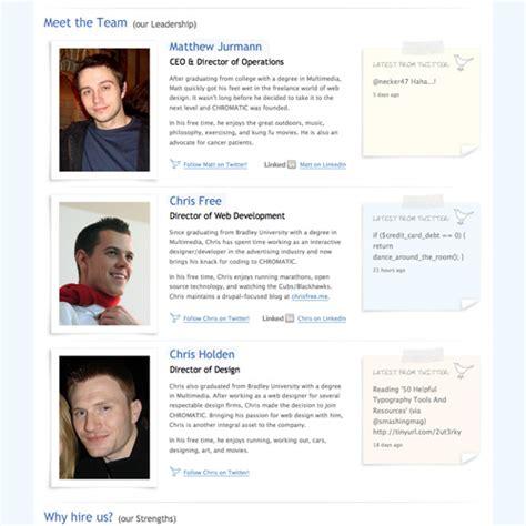 employee biography template employee bio exles screenshot compliant photos moreover chromatic emmabender
