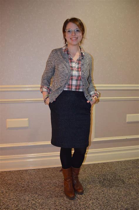 nyc recessionista wears festive plaid nyc