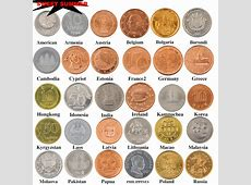 30 Coins Collection Set From 30 Countries Metal Gift Graft