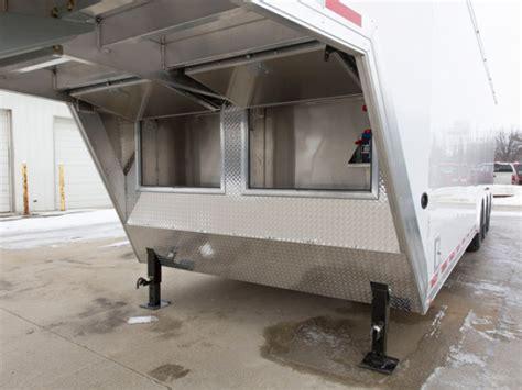 ft aluminum gooseneck cargo trailer mo great dane trailers