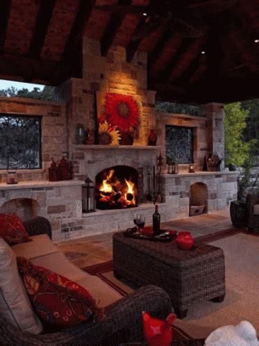 place cozy gif fireplace cozy livingroom discover