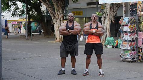 synthol brothers  brazil   cm biceps