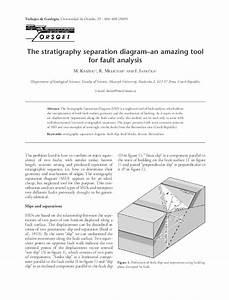 Pdf  The Stratigraphy Separation Diagram U2013an Amazing Tool
