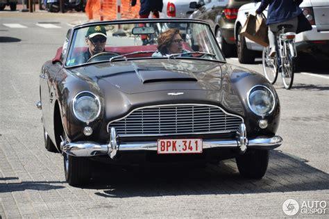 aston martin db convertible  mei  autogespot