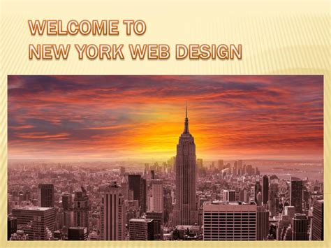 web design new york ppt new york web design powerpoint presentation id 7395533