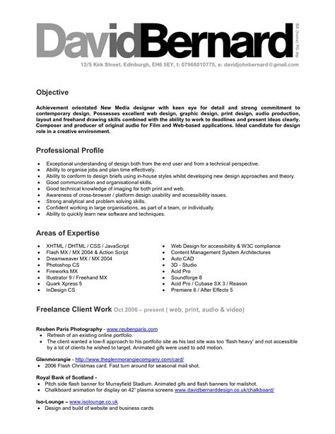 Data Architect Resume Objective by Data Scientist Resume Objective Graphic Design Skills