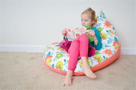 Child Bean Bag Armchair by Diy Sew A Bean Bag Chair In 30 Minutes Project Nursery