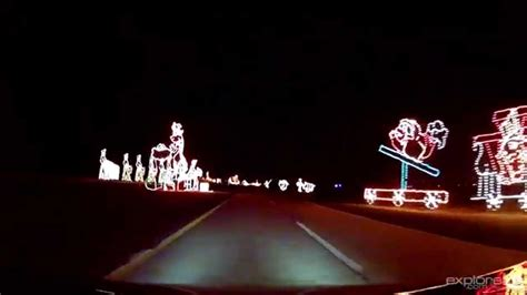 holiday lights spectacular at jones beach youtube