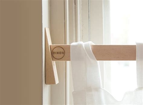 Diy Swing Arm Curtain Rod by Window Coverings Better Living Through Design