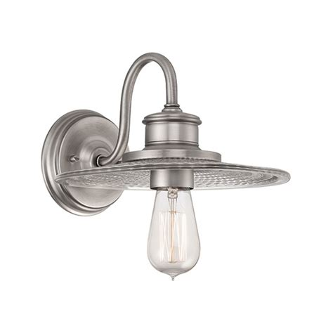 old style wall lights fisherman style wall light in antique nickel with vintage