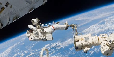nasa astronauts hold emergency spacewalk space station tuesday inverse
