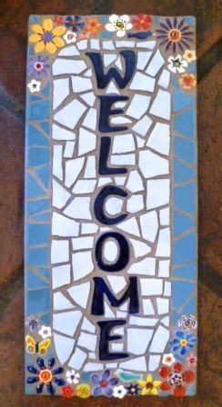 mosaic  signs mosaic art projects mosaic artwork