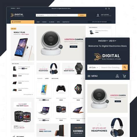 Digital Electronics Template by Digital Electronics Store Prestashop Addons