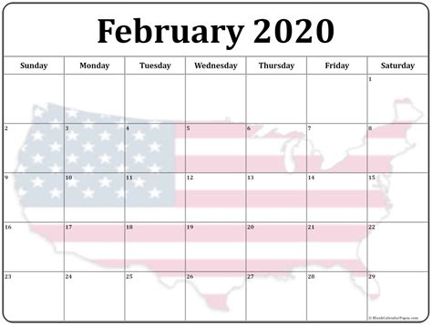 collection february photo calendars image filters