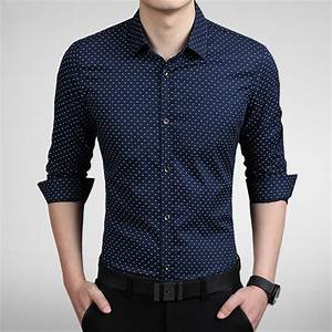 Aliexpress.com : Buy 2015 New Men Long Sleeve Shirt Luxury ...