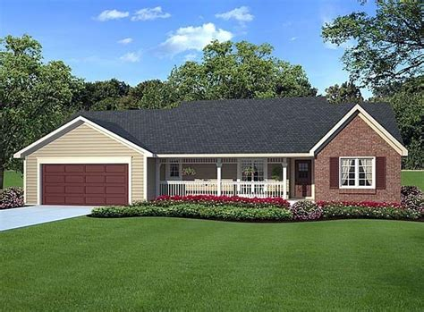 Traditional Country House Plans by House Plan 20083 Country Ranch Traditional Plan With