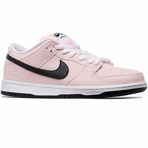 Nike SB Pink Box Dunk Low Elite Shoes - Prism Pink/Black/White