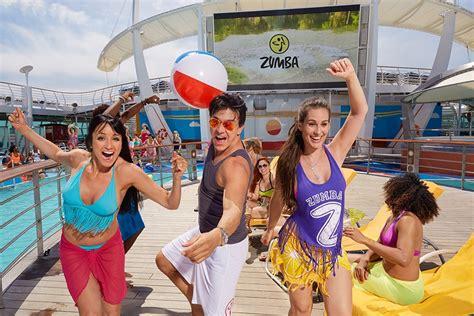 zumba cruise royal perez dance fitness island theme non caribbean water story they