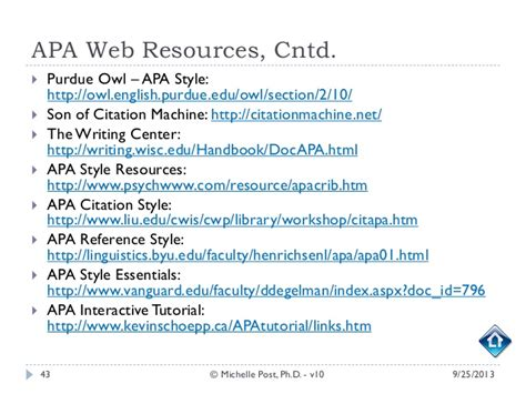 Apa Style Research Paper Appendix