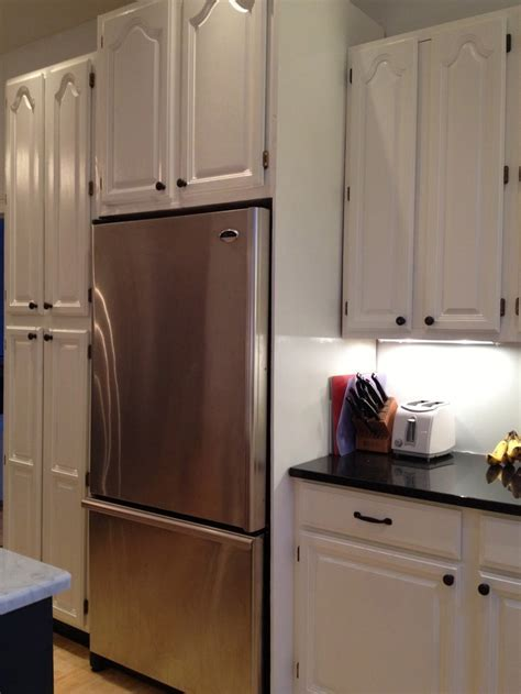 Faking a Built in Refrigerator: Before & After, love this