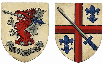 Baron Arms Coat His Crest Lordship Newmarch