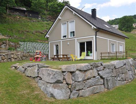 maison bois avec bardage canexel nos maisons ossatures bois maison 2 pans