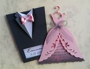 Bridal wedding invitations quotbride and groomquot tuxedo for Wedding invitation card suits
