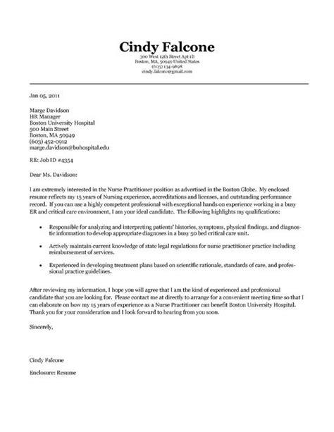 Nurse Application Letter In Government Hospital Sample