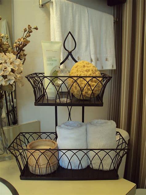 Elegant Bathroom Decorating Ideas With Amazing Wrought