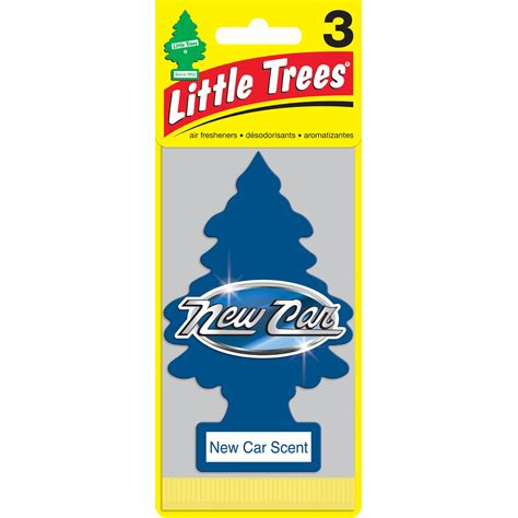 Car Freshener Tree by Trees Air Fresheners New Car Scent 3 Pack Walmart