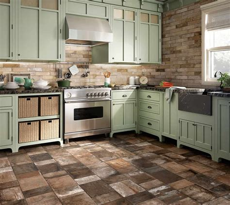 beautiful tile flooring ideas  living room kitchen