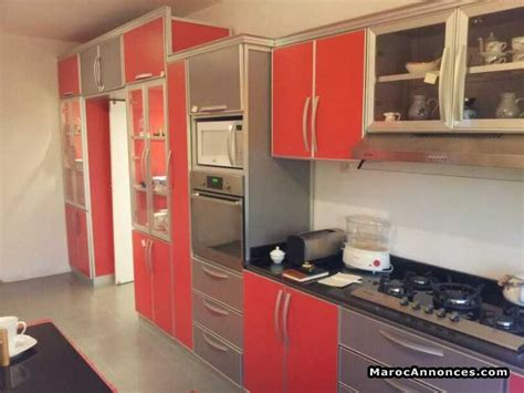 meuble cuisine en aluminium cuisine moderne aluminium le bois chez vous