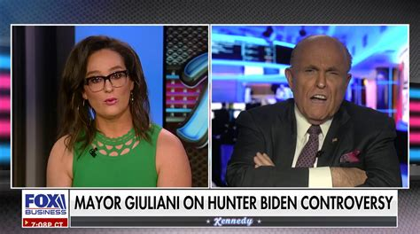 Rudy Giuliani explodes at anchor for 'outrageous ...