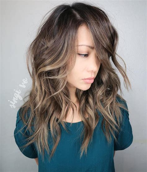 medium shaggy hairstyles for thick hair hairstyle for