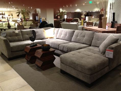 Living Room Furniture At Macy S by Macy S Sectional For Living Room Furniture Leather