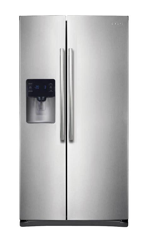 samsung  cu ft side  side refrigerator stainless