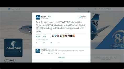 bureau egyptair egyptair flight from to cairo disappears from radar