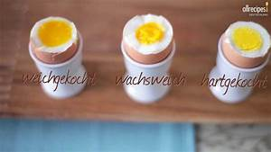 Anleitung Eier Kochen Weich Wachsweich Oder Hartgekocht