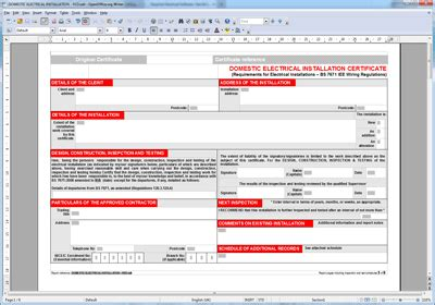 Portable Liance Testing Certificate Template Pat View Full Size