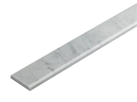 carrara marble threshold 4 in x 36 in white carrara marble polished threshold liner trim