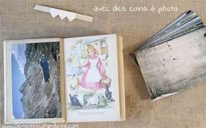 Album Photo Ancien : diy album photo dans un vieux roman cl mentine la mandarine ~ Teatrodelosmanantiales.com Idées de Décoration