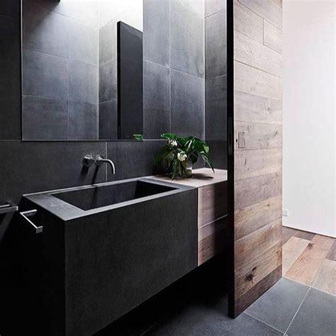 dark moody bathroom designs  impress digsdigs