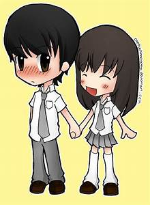 The gallery for --> Chibi Anime Boy And Girl Hugging