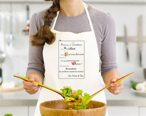 tablier de cuisine personnalisé brodé voir les 5 avis des clients