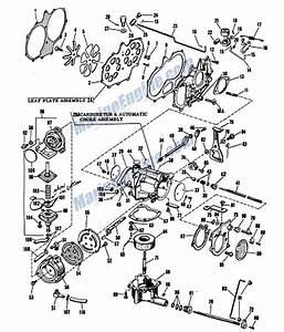 Johnson Carburetor Group Parts For 1960 40hp Rdsl
